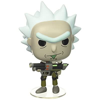 Funko POP Animation Rick and Morty Weaponized Rick (Styles May Vary) Action Figure: Funko Pop! Animation:: Toys & Games