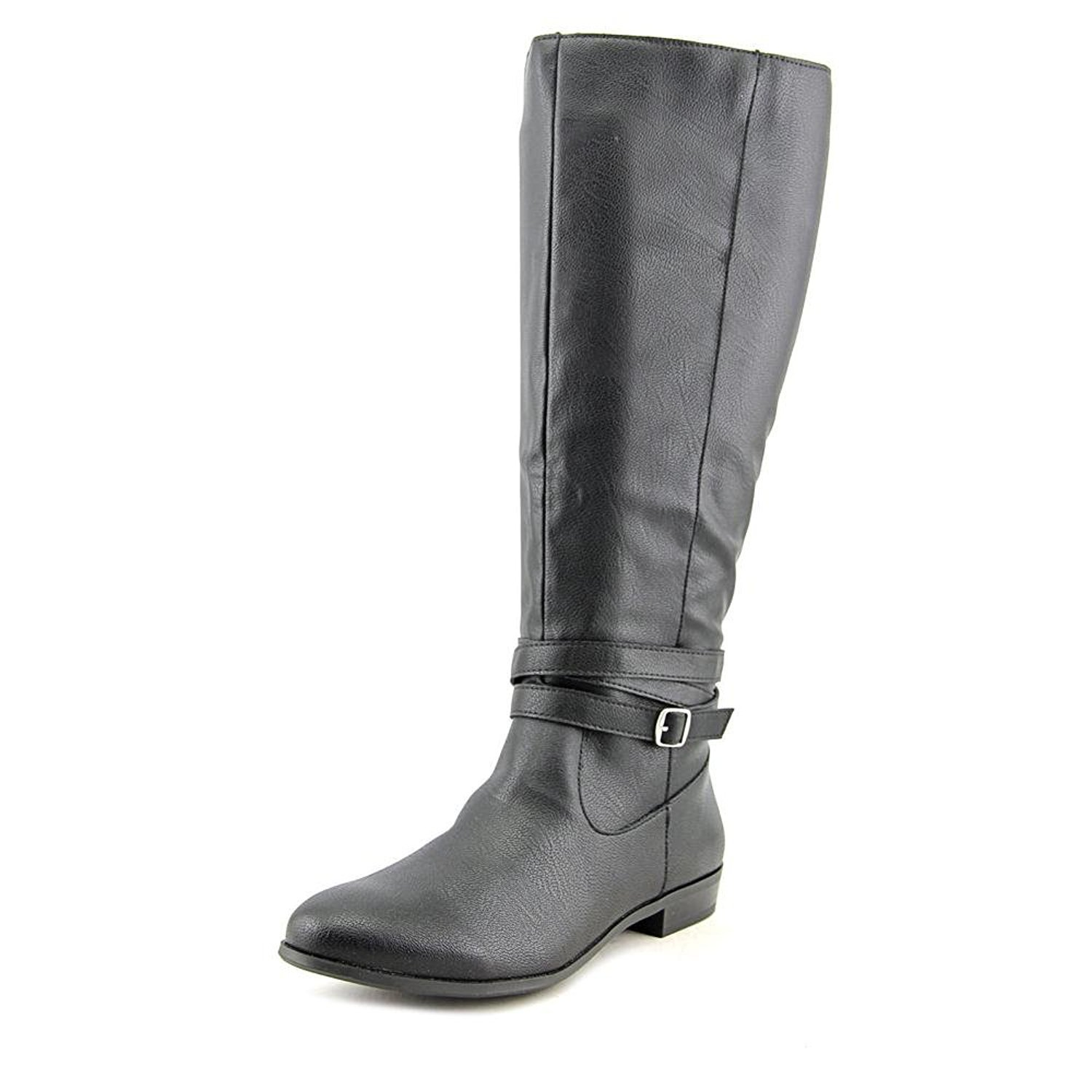 Style & Co. Womens Fridaa Round Toe Mid-Calf Riding Boots, Black, Size 7.0 by Style & Co.