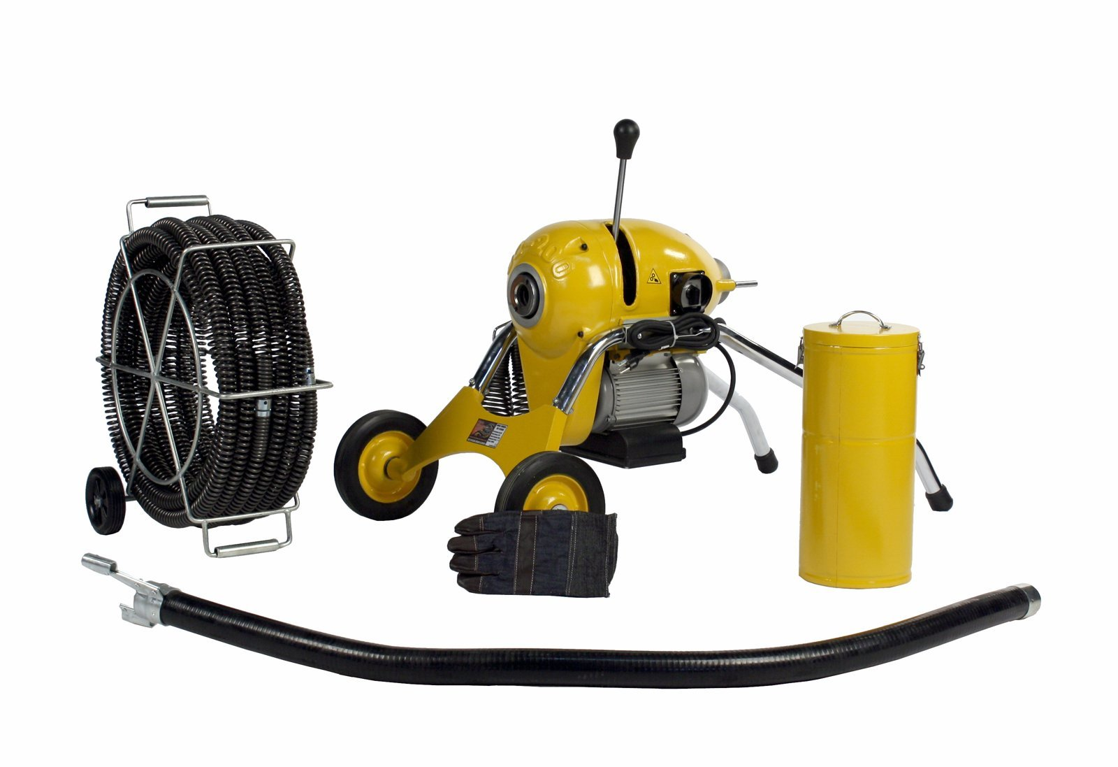 Steel Dragon Tools K1500B Sewer Line Pipe Drain Cleaning Machine fits RIDGID C-11 Snake Cable