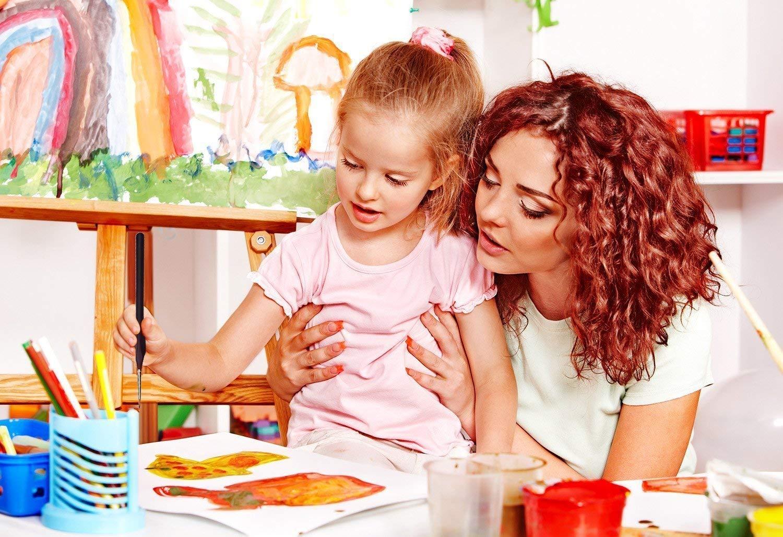 Détail Pinceau,pinceaux acrylique,10 Pcs Peinture Pinceaux Acrylique pour la Peinture à L\'aquarelle Gouache et Acrylique