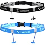 Synergy Running/Triathlon Race Day Belt Combo Pack