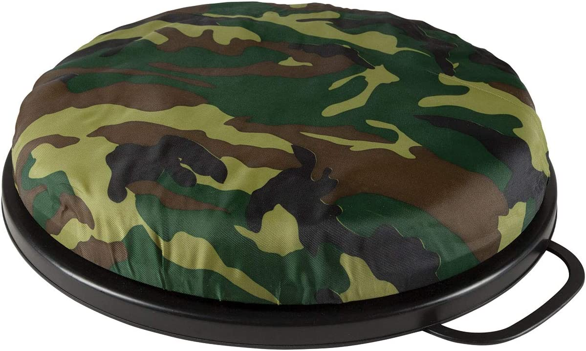 Allen Company Vanish Seat Bucket Lid - 12 inches Diameter x 2 inches High- Camo, One Size : Sports & Outdoors