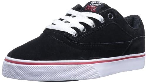 Osiris Caswell VLC, Zapatillas de Skateboarding para Hombre, Negro (Schwarz (Black/White/Red), 43 EU: Amazon.es: Zapatos y complementos