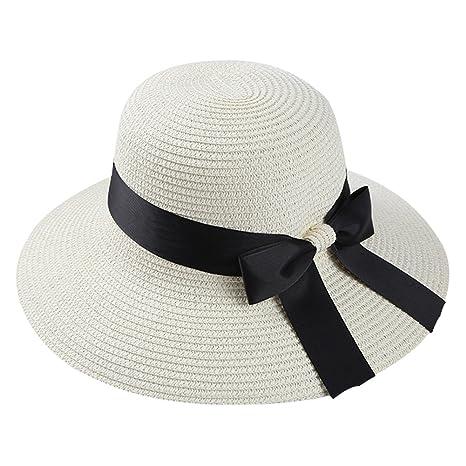 Cappello Estivo da Sole Cappello da Sole con Visiera in Paglia Cappello da  Sole con Visiera 3c98ea481da0
