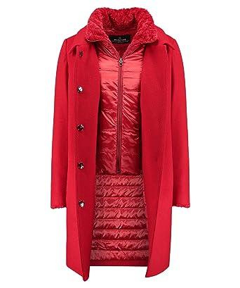 ganz nett Ausverkauf tolle Passform MILESTONE Damen Mantel Tessa rot (74) 38: Amazon.de: Bekleidung