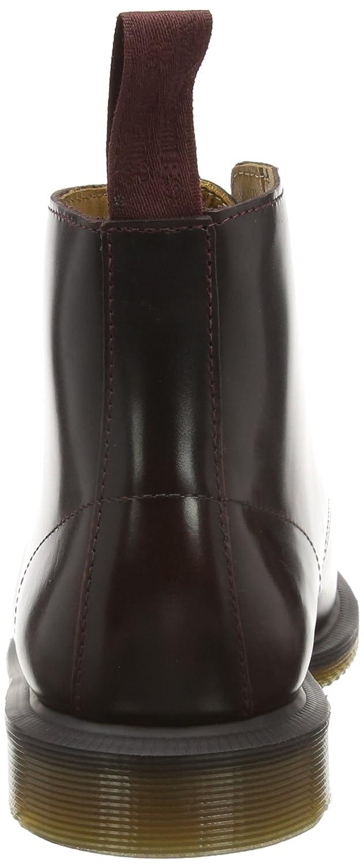 Dr. Martens Emmeline Pol. Smooth Cherry, Damen Combat Boots, Rot (Cherry Red), 42 EU (8 Damen UK)