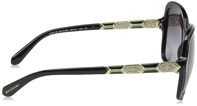 Bulgari 0BV8181B 54178G 56, Montures de Lunettes Femme, Noir Malachite Green  Black Gradient  Amazon.fr  Vêtements et accessoires 97b06b012cba