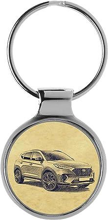 Kiesenberg Schlüsselanhänger Geschenke Für Hyundai Tucson Tl N Line Fan A 5201 Auto