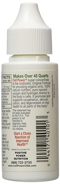 Amazoncom Positive Power Nutritionals Cell Power 1oz Health