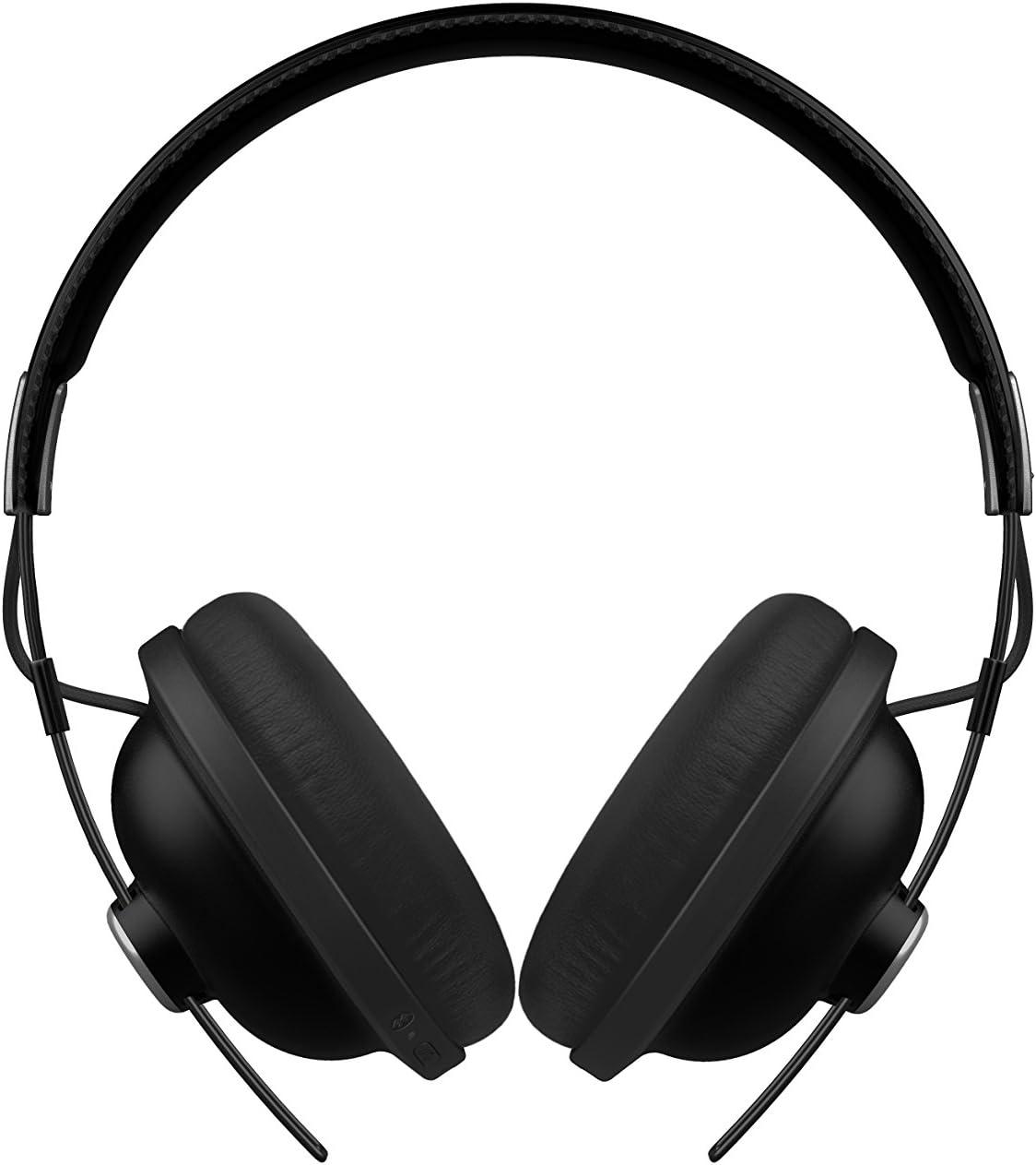 Panasonic RP-HTX80BE-K - Auriculares Bluetooth Diadema (24 h de Reproducción, Micrófono y Manos Libres, Hi-Fi Sonido, Cascos Inalámbricos, Carga Rápida, Cascos Diadema Premium Moviles, TV, PC) Negro