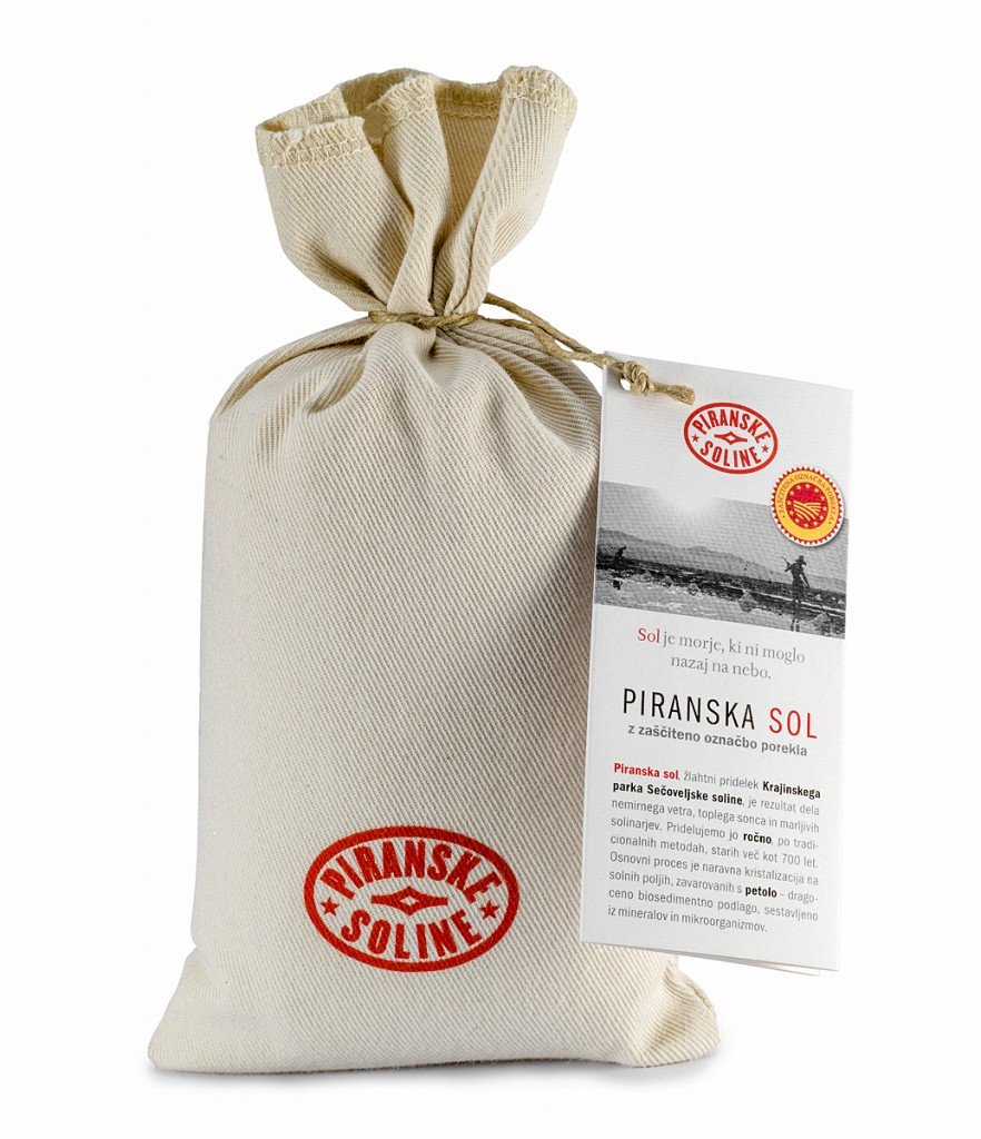 Piran Salt - Piran Salt with Protected Designation of Origin 1kg, 2.2 lb