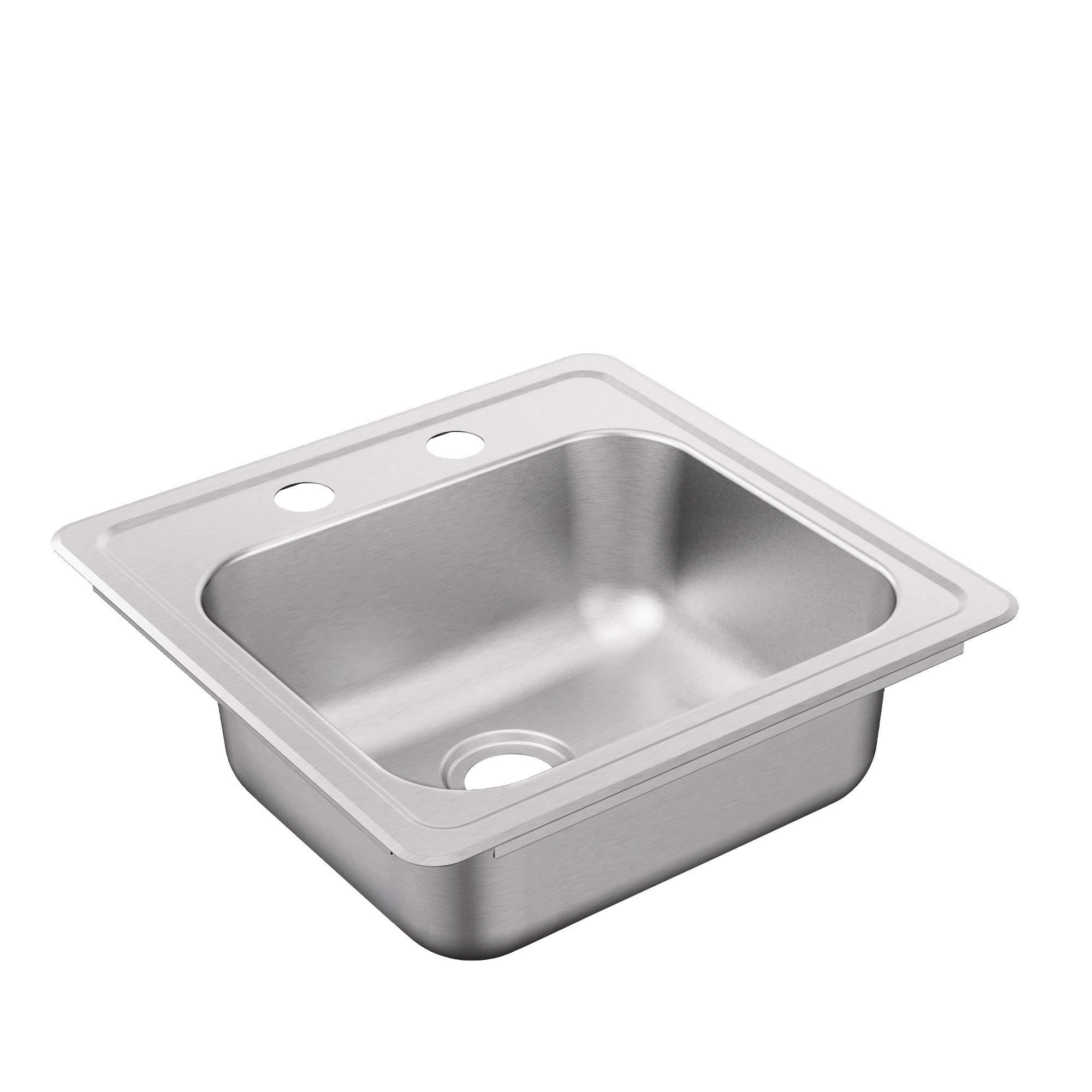 Moen G2245622B 2200 Series Sink, Brushed/Satin Stainless by Moen