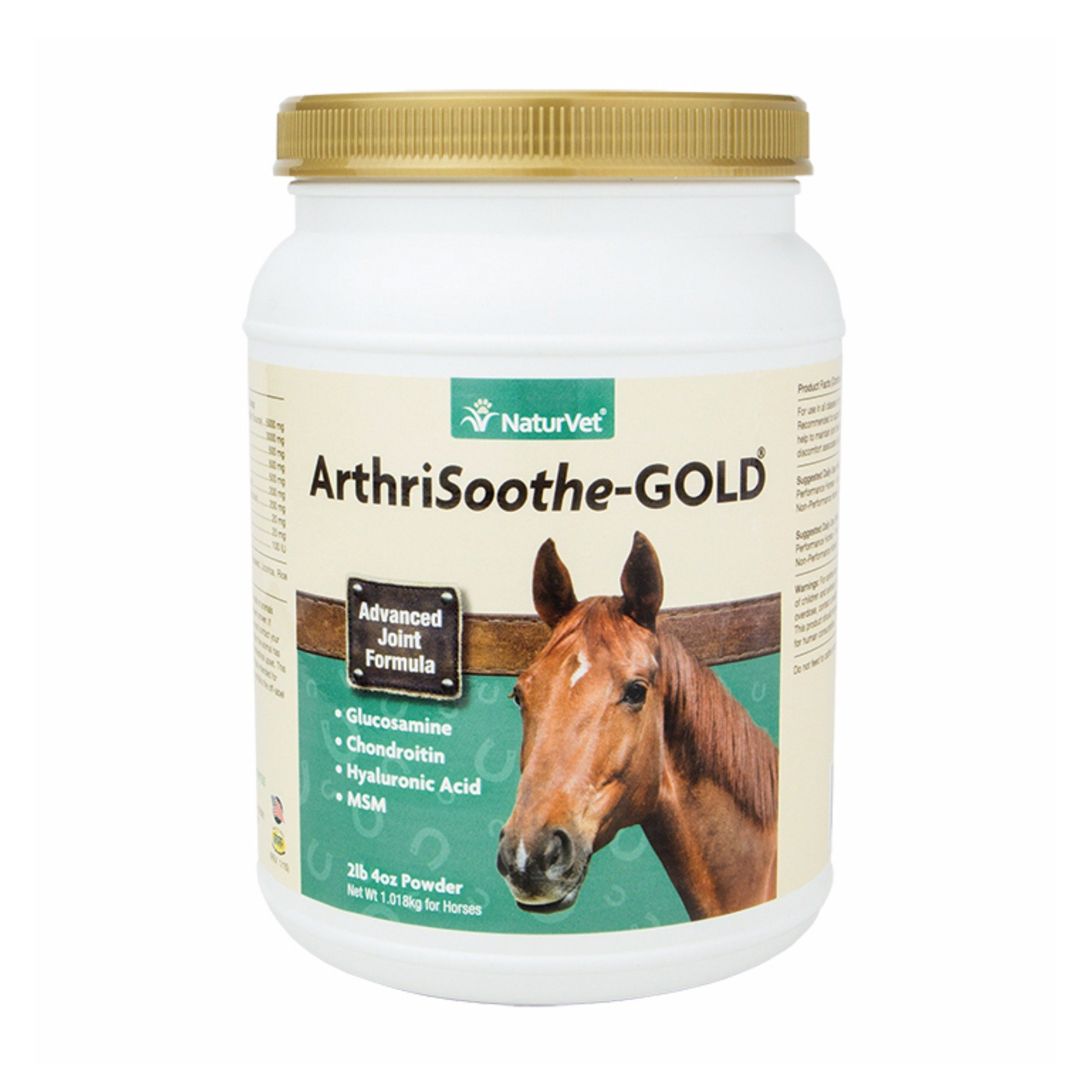 NaturVet ArthriSoothe-Gold Horse Powder, 60 Day Supply