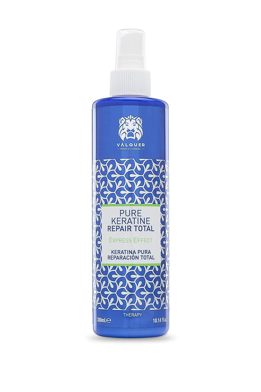 Valquer Profesional Keratina Pura para el cabello Total Repair. Cabellos dañados. Sin sulfatos, sin siliconas, sin sal - 300 ml
