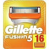 Gillette Fusion5 Rasierklingen, 16 Stück, briefkastenfähige Verpackung
