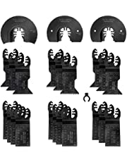 WORKPRO 23-Piece Metal/Wood Oscillating Multitool Quick Release Saw Blades Set
