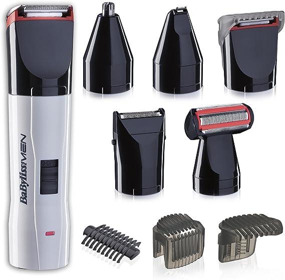 BaByliss T839E Set de afeitado eléctrico multifunción barba y ...