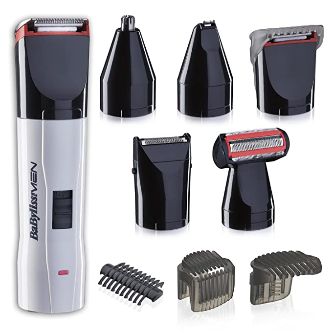 BaByliss - Kit de corte T839E - Set de afeitado eléctrico multifunción  barba y cuerpo 6979328e05b9