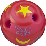 Large Wiggly Giggly Ball by Toysmith (assorted colors, sold individually)