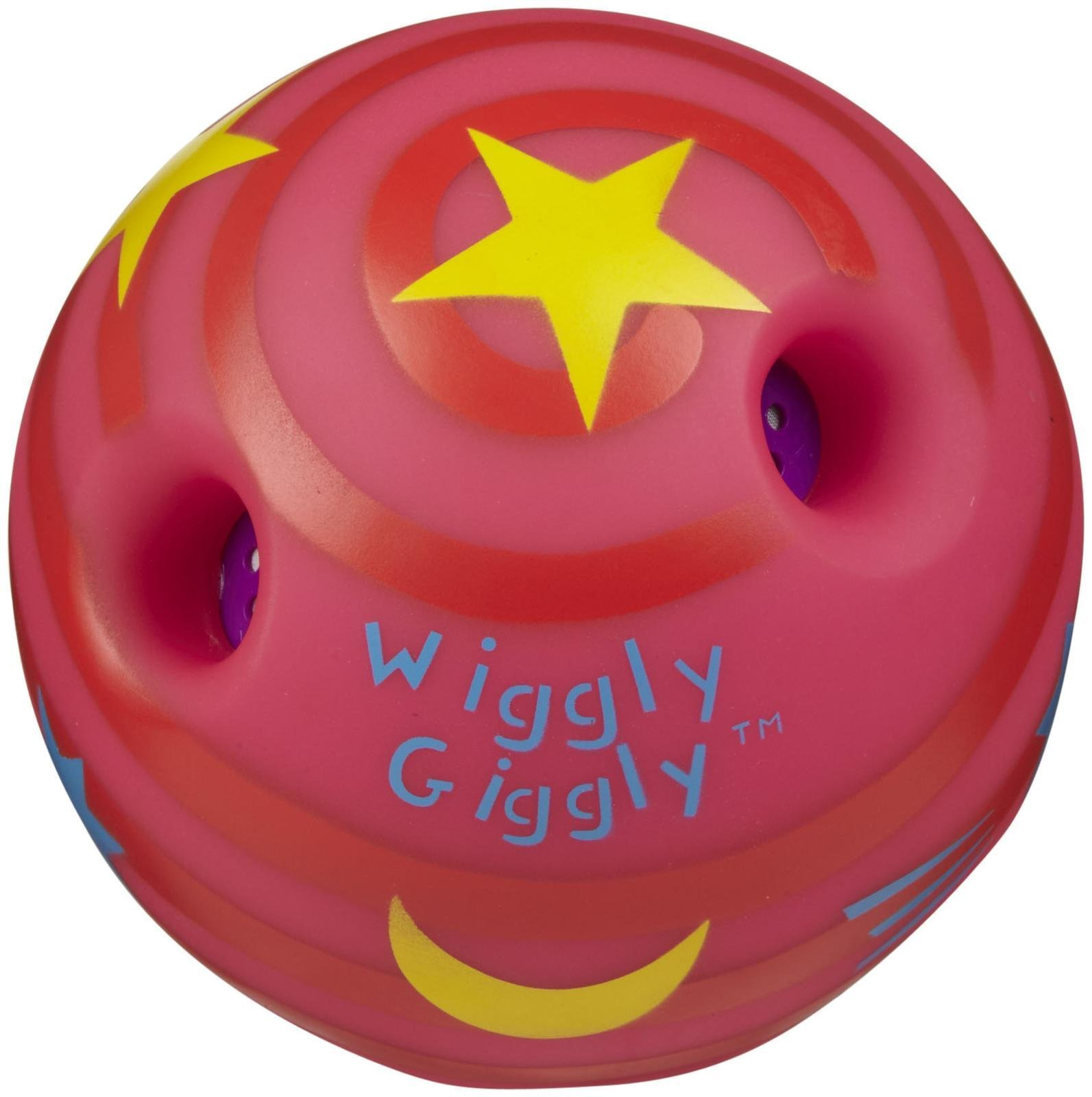 Amazon.com : Toysmith Mini Wiggly Giggly Ball Pink/Blue