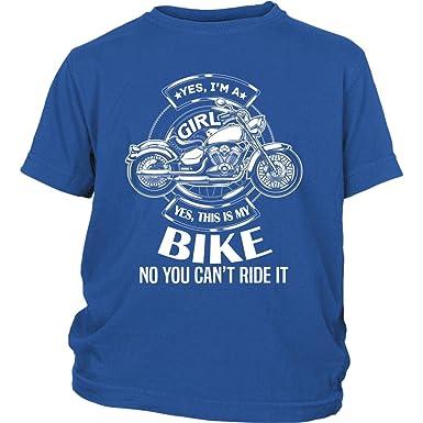 Amazon.com: Sí, este es mi bici bebé Body traje, I Am A Girl ...