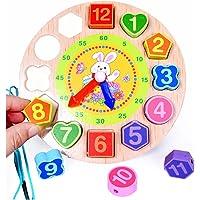 Jack Royal Wooden Digital Clock Bead Toy (Rabbit)