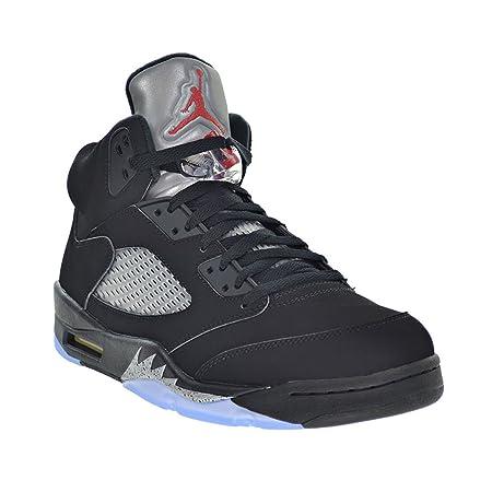 check out 60157 5dfb5 Amazon.com  Jordan Air 5 Retro OG Men s Shoes Black Fire Red Metallic Silver  White 845035-003 (11 D(M) US)  Sports   Outdoors