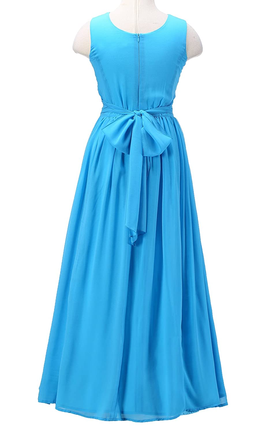 Amazon.com: Happy Rose Juniors Long Bridesmaid Dress Party Dresses ...
