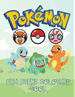 pokemon childrens coloring book coloring book with catchable characters from pokemon go for you to - Pokemon Coloring Book