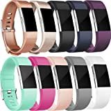Amazon Price History for:Amzpas Fitbit Charge 2 Bands, Small Large Adjustable Replacement Accessory Wristbands Bracelet for Women & Men