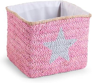 Child Home fibra natural maíz Caja decorativa cesta, 1pieza, 30 x ...