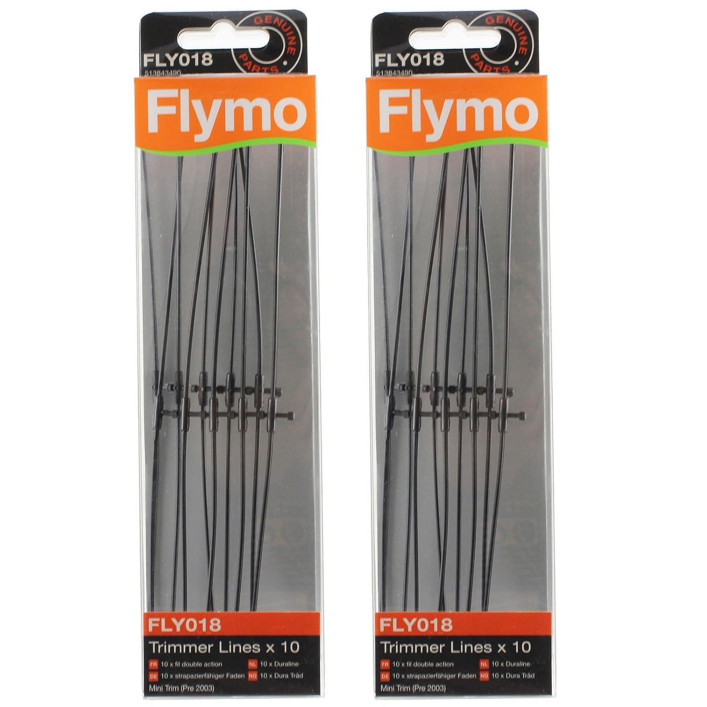 FLYMO - Juego de 20 líneas de cortacésped mini (FLY018): Amazon.es ...