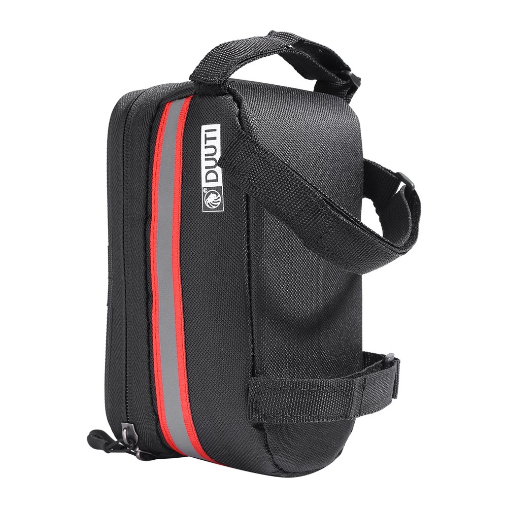 Bicycle Front Frame Bag Handlebar Reflective Bag with Waterproof Touch Screen Cellphone Case