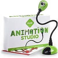 HUE Estudio de Animación (Verde) para Windows y macOS: Kit Completo para la realización de animaciones Stop Motion. Incluye Libro en español.
