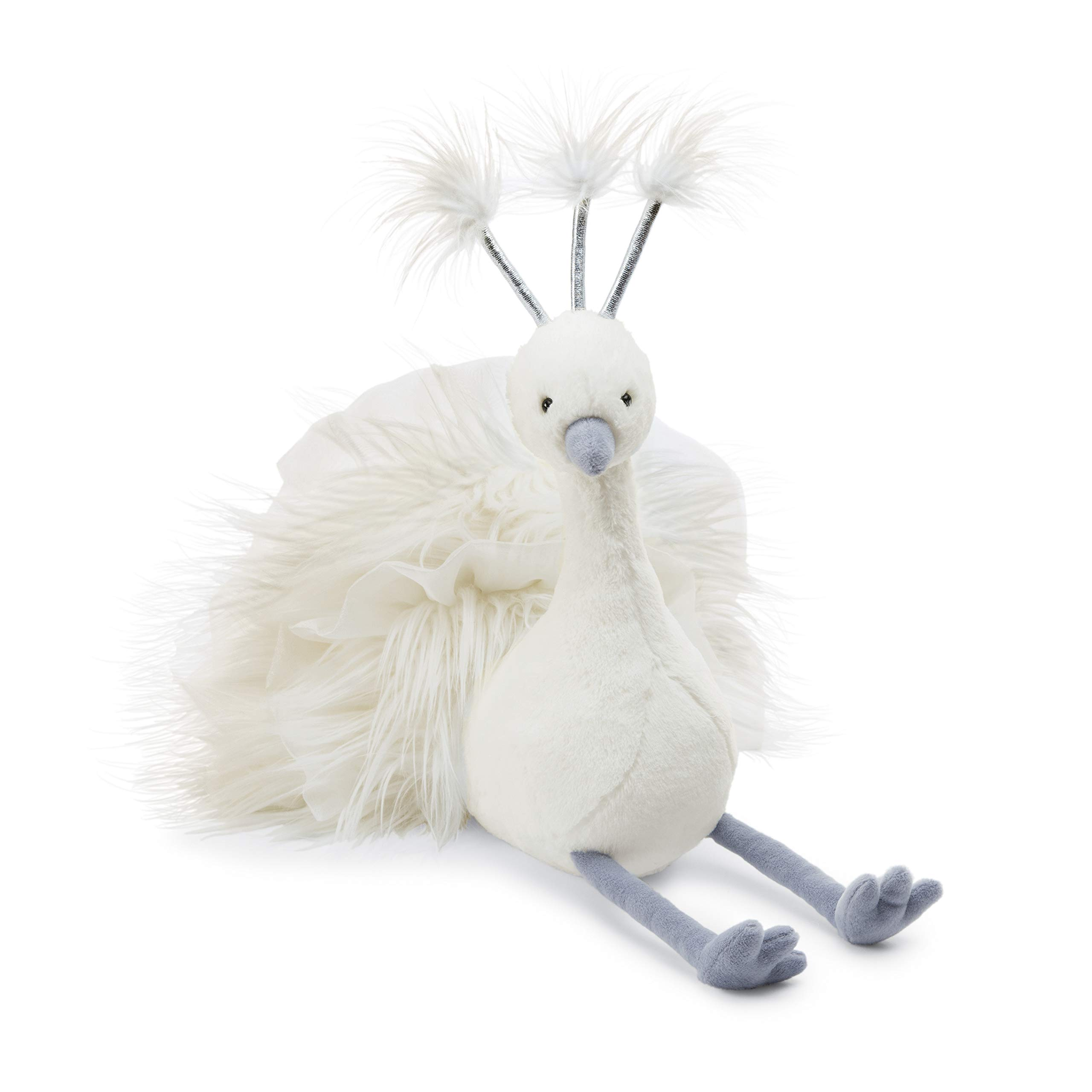 Jellycat Lola Wingaling Peacock Stuffed Animal, 20 inches by Jellycat
