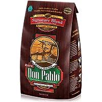 5LB Cafe Don Pablo Gourmet Coffee Signature Blend - Medium-Dark Roast Coffee - Whole Bean Coffee - 5 Pound (5 lb) Bag