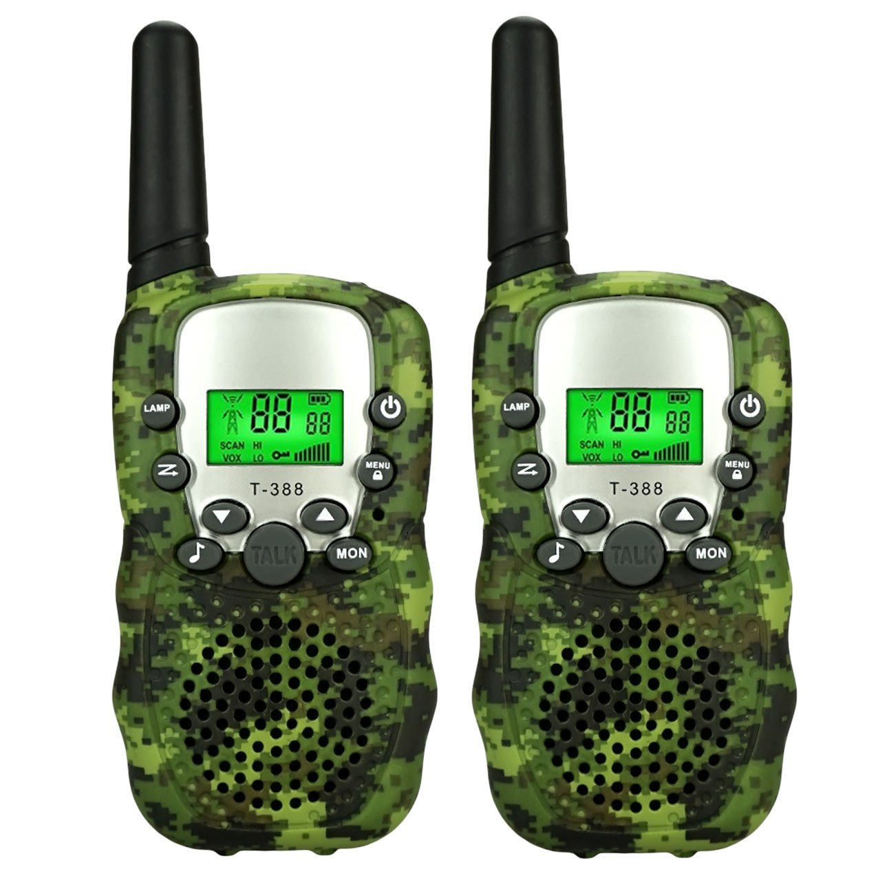 TISY Toys for 3-12 Year Old Boys, Walkie Talkies Boy Gifts Age 3-12 Gifts for 3-12 Year Old Girls Eletronic Sporting Toys for 3-12 Year Old Girls TSUSDJ01