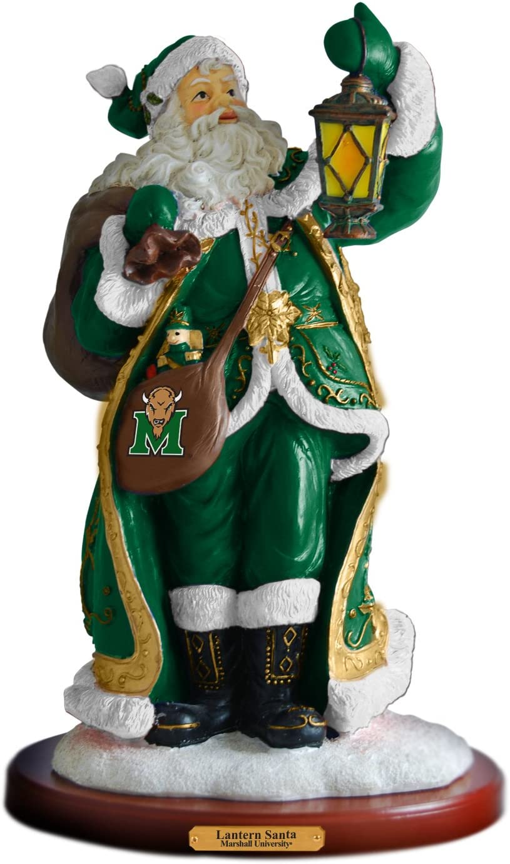 NCAA Marshall Thundering Herd Lantern Santa-Marshall