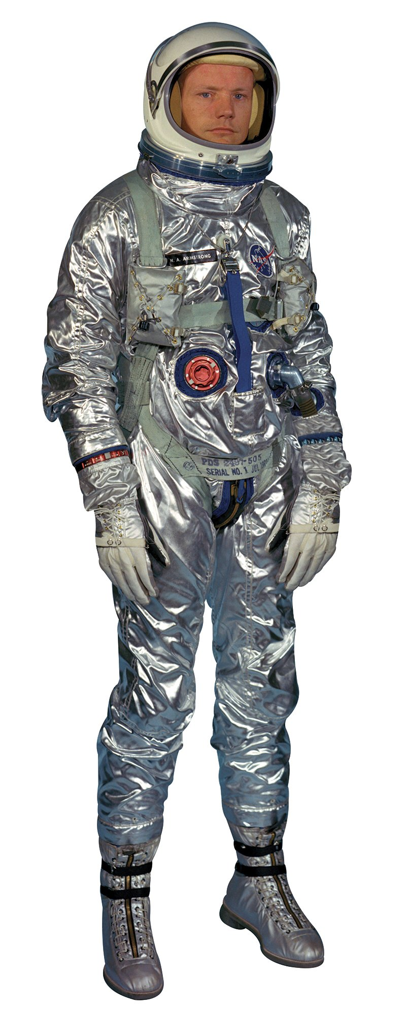 Aahs Engraving Astronaut Neil Armstrong Life Size Cardboard Stand Up, 6 feet