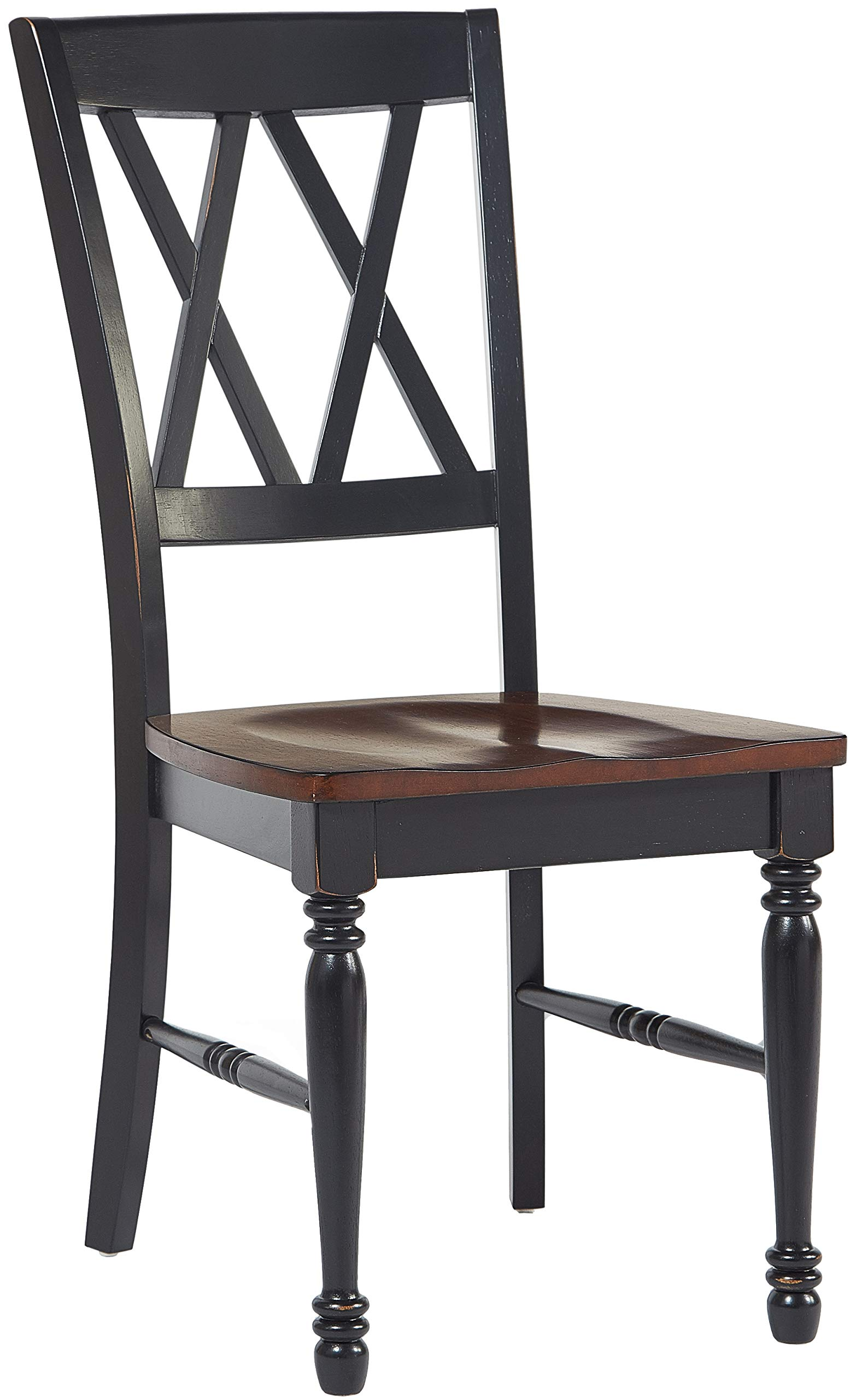 Crosley Furniture KF20001-BK Shelby 7-Piece Dining Set, Black by Crosley Furniture (Image #4)