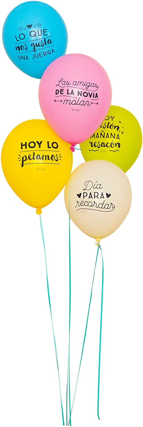 Mr. Wonderful - Globos para despedidas de soltera épicas (WOA03343)