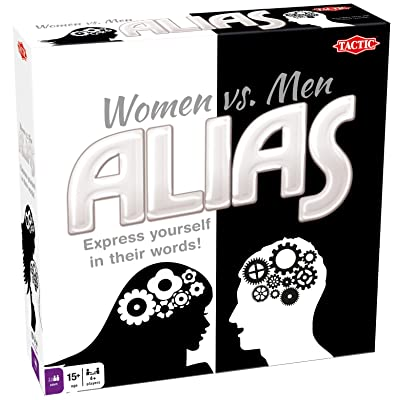 Tactic Games US Tactic 53704 - Women Vs Men Alias Board Game: Toys & Games
