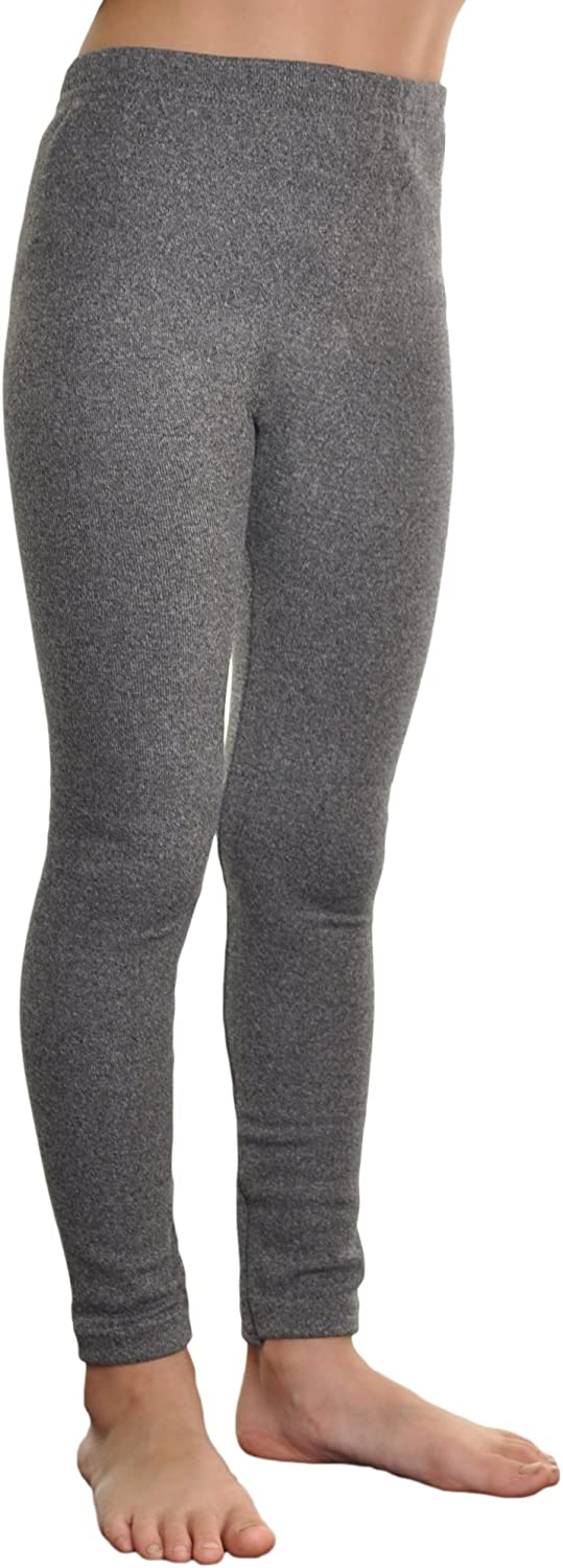 Angelina Girls Assorted-Color Fleece Lined Footless Leggings