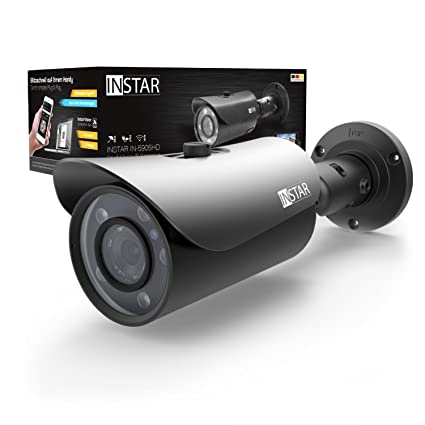 INSTAR IN-5905HD - Cámara IP WiFi para Exteriores, Sensor WDR, 1 MP