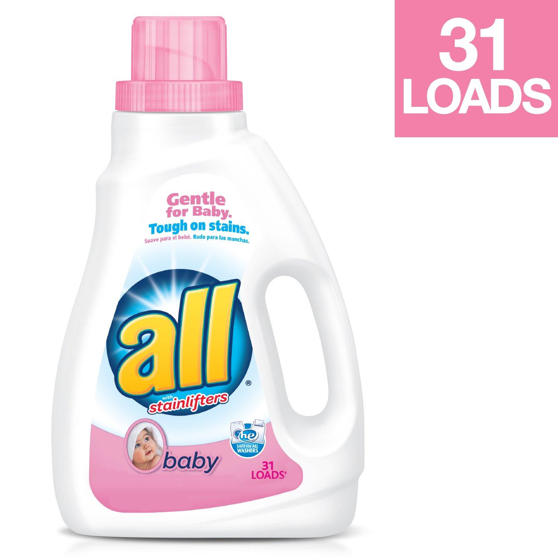Amazon Com All Baby Liquid Laundry Detergent 46 5 Fluid Ounces 31