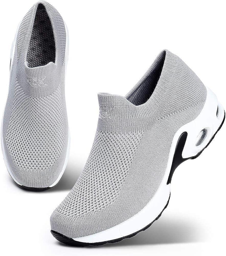 STQ Women Walking Shoes Slip On