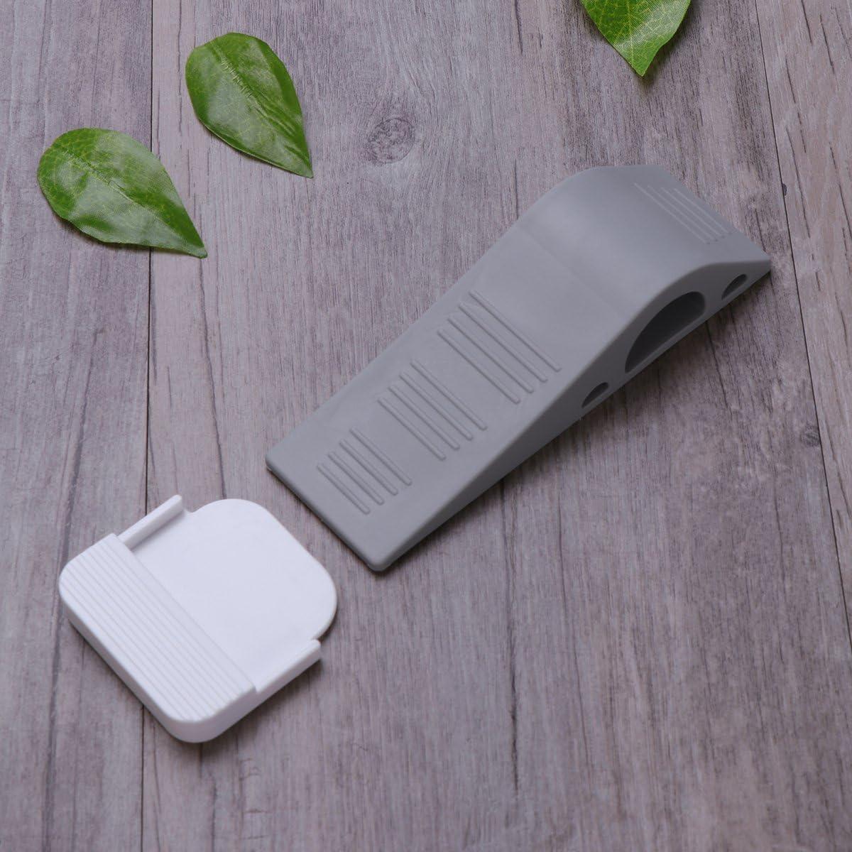 une cale darr/êt d/écorative en caoutchouc adapt/ée aux tapis stratifi/és WINOMO 3 paquets avec des porte-primes gratuits