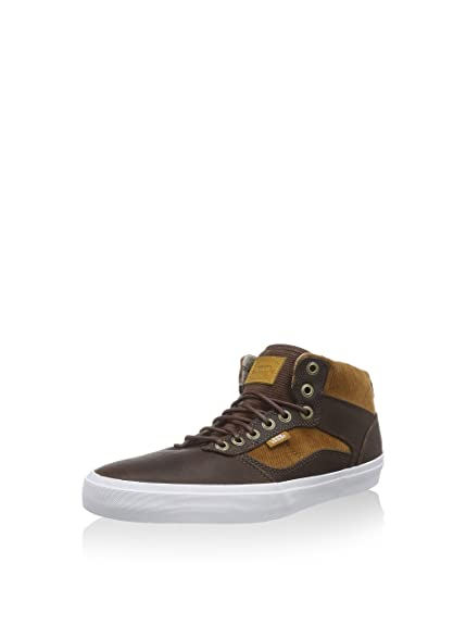 ac92f3f1fb102a Vans Men s Bedford Round Toe Canvas Brown Sneakers (Duck Hunt) Brown White  Mens Size 6.5  Buy Online at Low Prices in India - Amazon.in