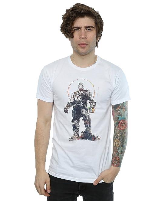 Absolute Cult Avengers Hombre Infinity War Thanos Fist Camiseta EYfa7p