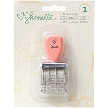 Shimelle Roller Date Stamp Day Month Year